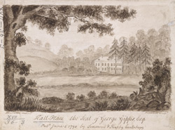 Hall Place the seat of George Gipps Esq.